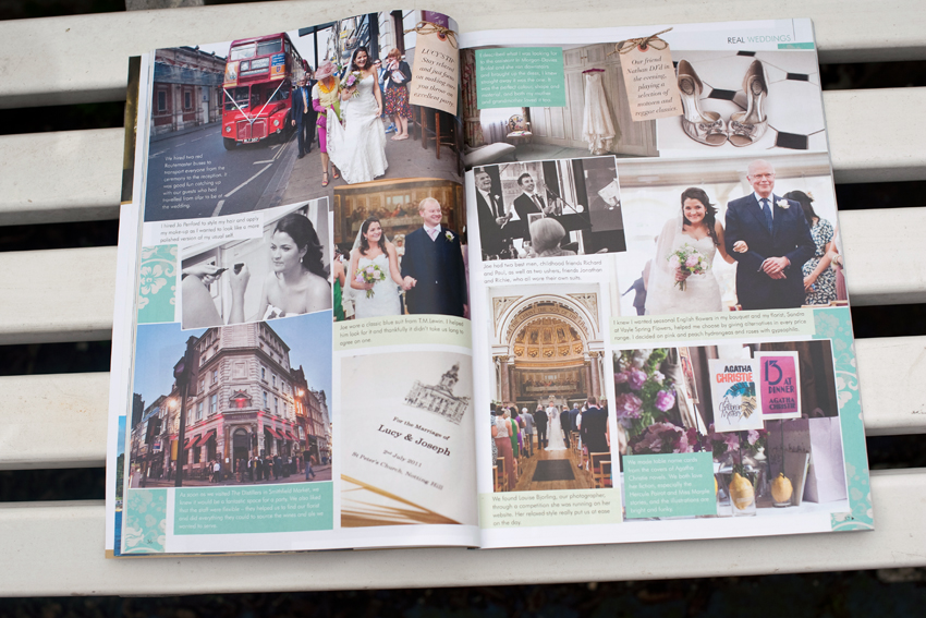 Agatha Christie Themed Wedding Featured In Your London Wedding